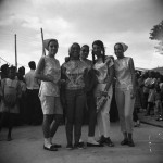Windward ladies at Carriacou Carnival.