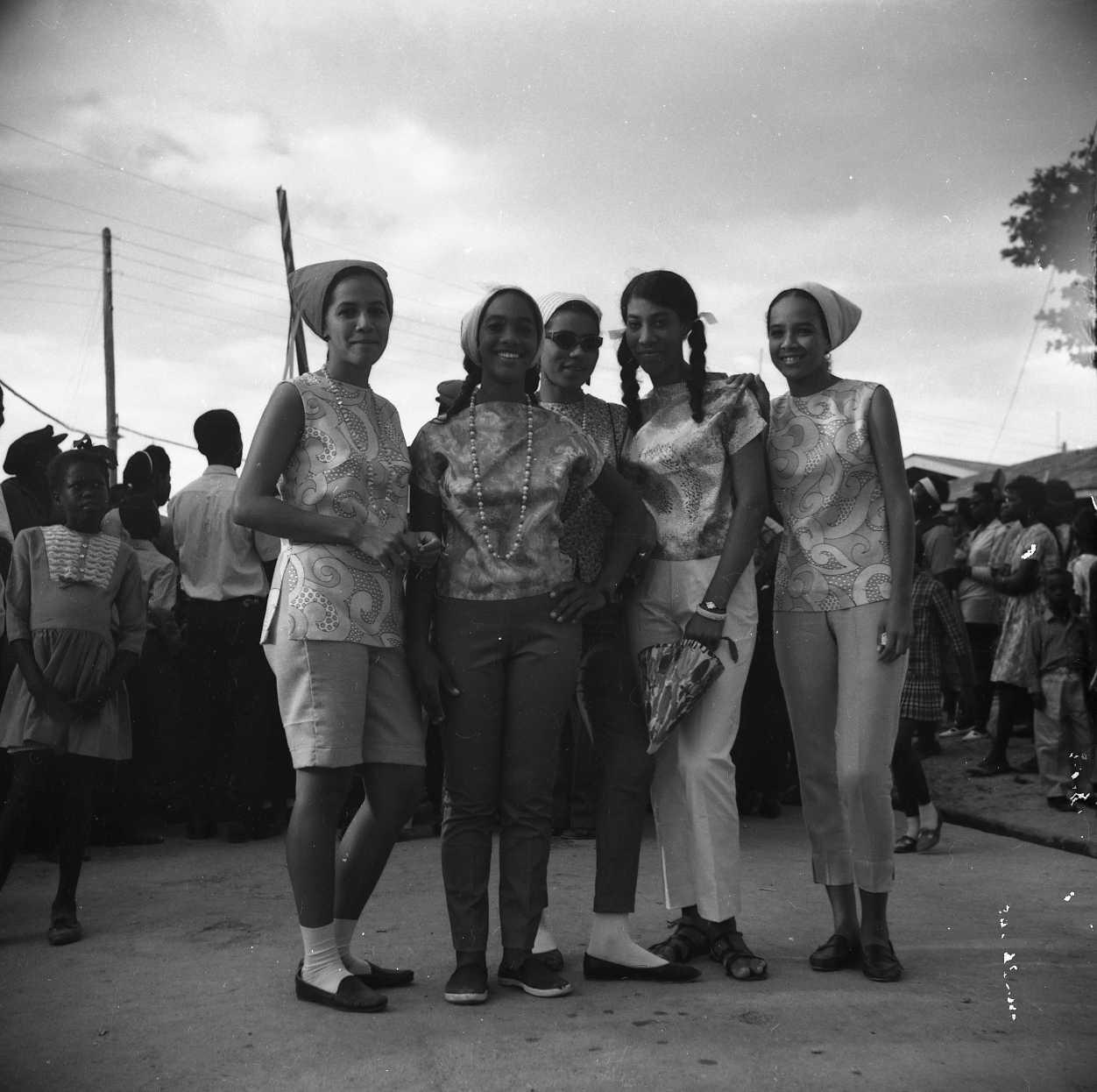 Windward ladies at Carriacou Carnival.
