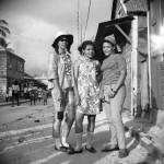 Velma McQuilkin (L),Daphne Roberts (now Steill), Laurel Martineau (R)