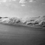 Winter surf.