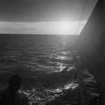 Sailing to Union Island.