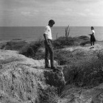 Josiah McLeod studying Gully Erosion.