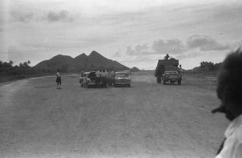 Construction Work on the 'New' Airstrip.