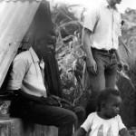 George , Uthan Noel & son Ian