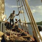 Aboard Miriam B