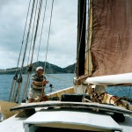 Capt John Smith aboard Mermaid - 2003.