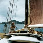 Capt John Smith aboard Mermaid - 2003.